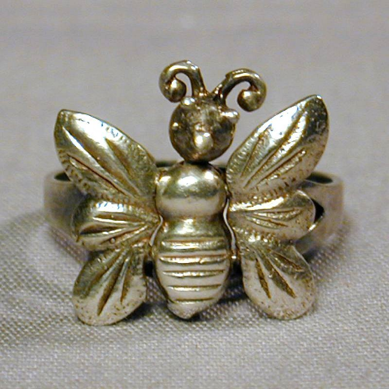 Vintage Silver Butterfly 67