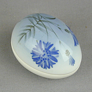 1989 Bing and Grondahl Porcelain Egg Trinket Box Ltd. Ed.