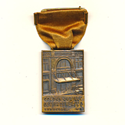 Old c1920s DEY BROTHERS Department Store Medal Syracuse