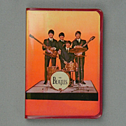 Rare 1965 Beatles Diary Vinyl Mini Book w/ Photos