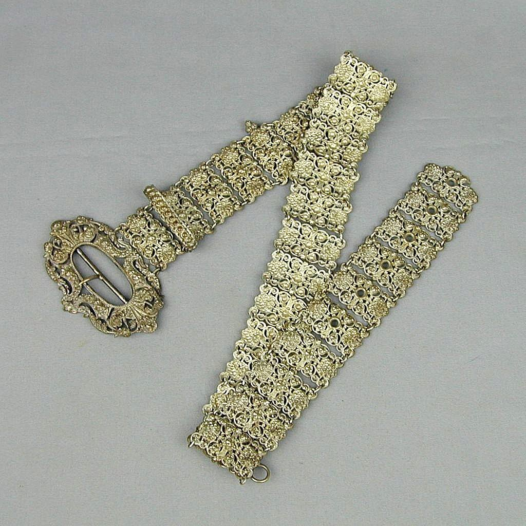 Victorian Ladies Chatelaine Belt or Necklace Very Ornate
