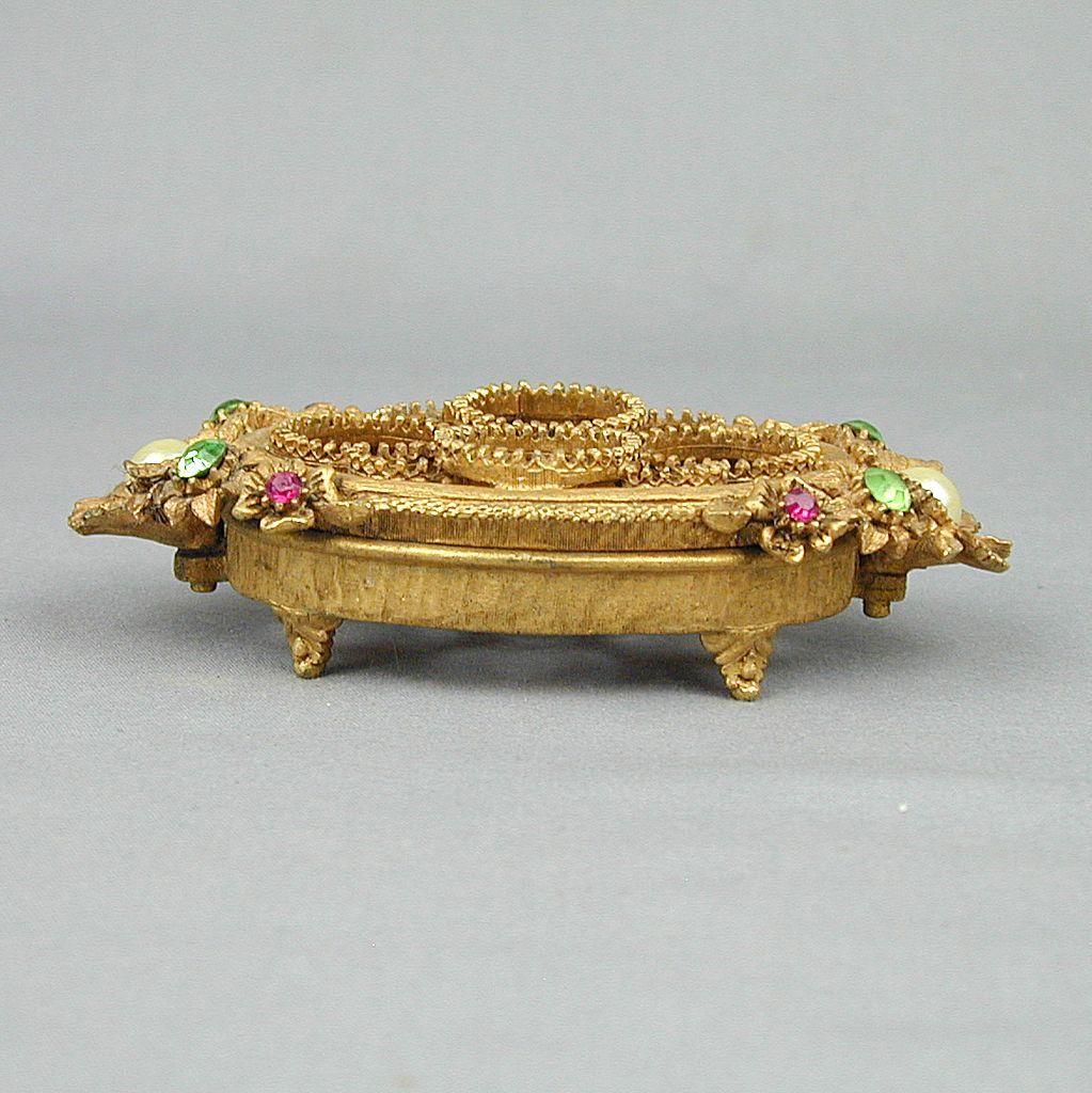 jeweled vanity set