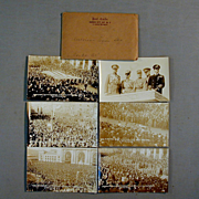 1921 Kansas City American Legion Parade 6 Real Photo Postcards RPPC