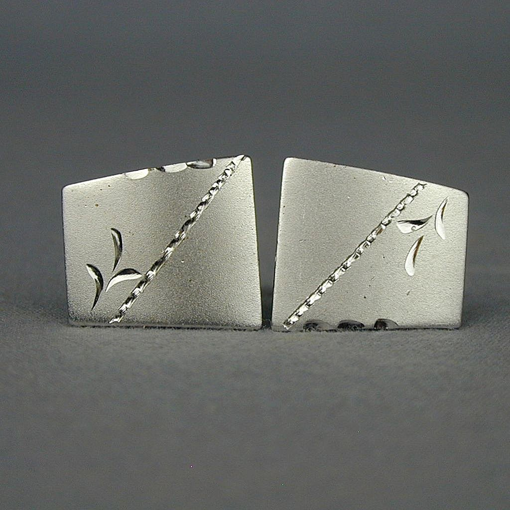 Vintage Sterling Silver Boredroom Cufflinks