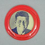1960 John F Kennedy for President Lenticular Cine-Vue Campaign Pin JFK