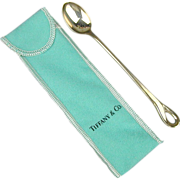 Vintage Tiffany Sterling Silver Baby Spoon by Elsa Peretti