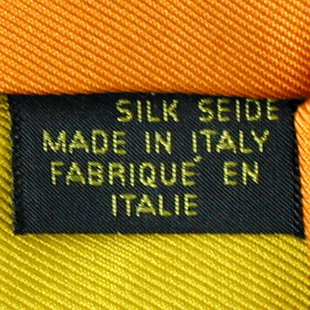 Vintage Emilio Pucci Bold Print Silk Tie Florence Italy
