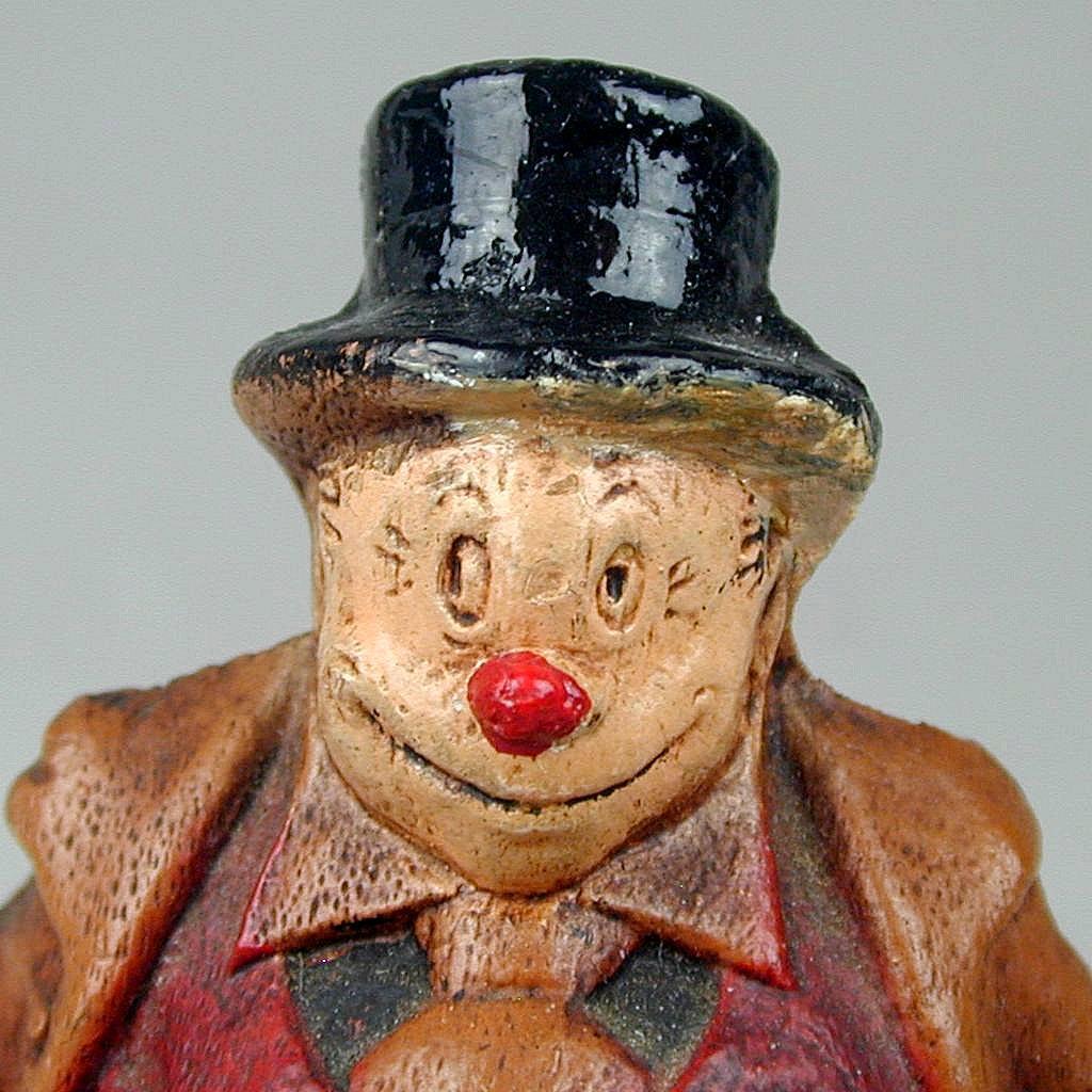 1944 KFS Pillsbury Syroco Wood JIGGS Figurine Comic Strip Character Premium