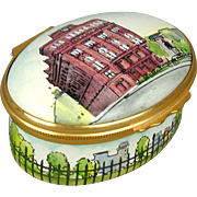 HALCYON DAYS Enamel Porcelain Trinket Box - The Cooper Union - Tiffany & Co.