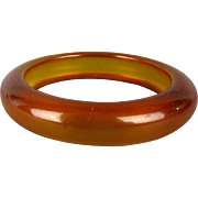 Vintage Bakelite Applejuice Bangle Bracelet