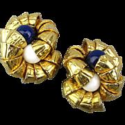Big Bold Chunky ~ Kenocker ~ Clip Earrings - So Fabulous