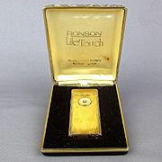 Vintage Ronson LiteTouch Lighter in Orig. Box Lite Touch Butane