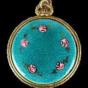 Big Vintage Pendant Necklace - Enamel or Ornate Filigree