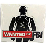1993 FBI WANTED Trading Cards - Sealed Box of 46 Packs - 320 Fugitive Cards
