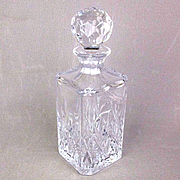 Vintage Tiffany & Co. Cut Crystal Liquor Decanter Sybil Pattern
