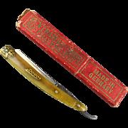 Old Fritz Bracht DOVO Straight Razor Knife Shaving Germany