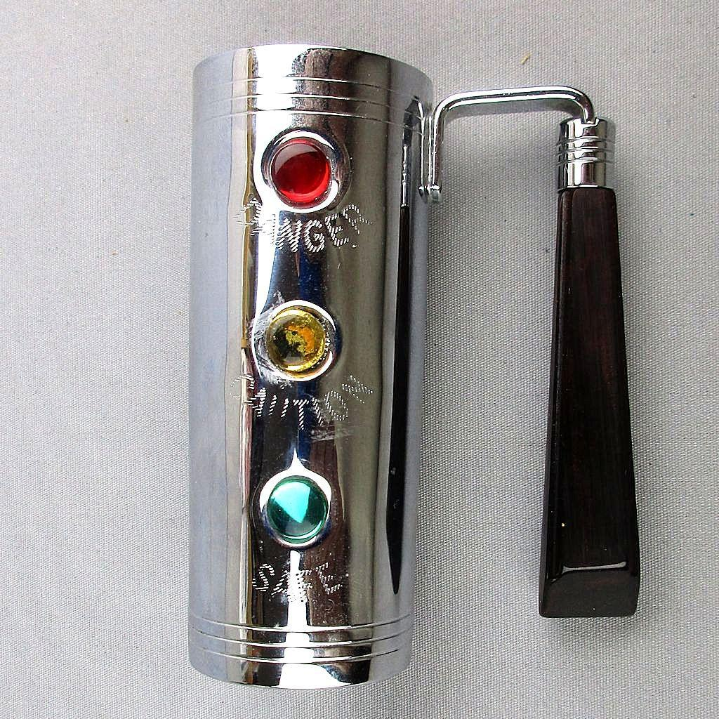 Art Deco Chrome - Bakelite Barware Traffic Light Jigger w/ Handle
