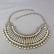 Old Tribal Necklace Modernized c1970s