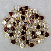 Swarovski Crystal Long Chain Necklace