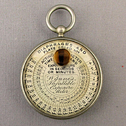 Old Wynne's Infallible Exposure Meter - Photography Light Gadget c1910