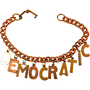 Image result for vintage political jewelry