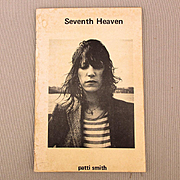1972 Patti Smith SEVENTH HEAVEN Book of Poems First Edition Signed