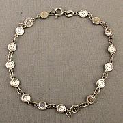 Sterling Silver Itsy Bitsy Buttons Bracelet