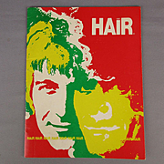 Original 1969 HAIR Broadway Rock Musical Souvenir Program