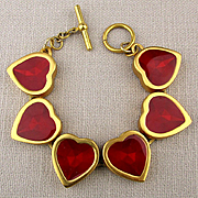 Red Hearts Link Bracelet - You'll Love It