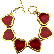 Red Hearts Link Bracelet - You'll Love It