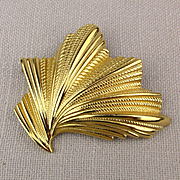 Big Gilded Dior Fan Pin for Dior Pin Fans