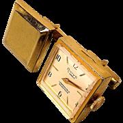 Vintage Cufflinks w/ Working Winder Ovivo Watch 7 Jewels