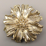 Tiffany & Co. 925 Sterling Silver Flower Pin Brooch Vintage