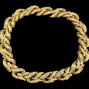 Elizabeth Taylor Avon Rhinestone Necklace ~ Eternal Flame ~