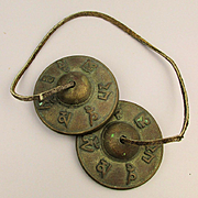 Old Brass / Bronze Meditation Yoga Bells Chime Instant Peace