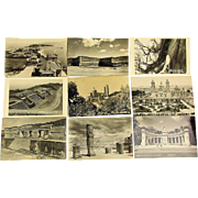 26 Vintage Postcards of 1953 Mexico - Most Real Photo RPPC