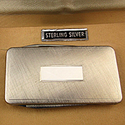 Simmons Sterling Silver Pocket Knife File Money Clip Combo Unused in Box