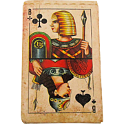 One Deck Russian Playing Cards Complete w/ Jokers Great Litho Graphics