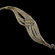 Navajo Liquid Beads Sterling Silver Bracelet