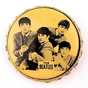 Rare 1964 Beatles Photo Pin Brooch Jewelry