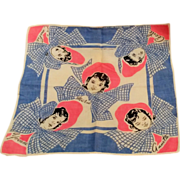 Dionne Quintuplets handkerchief bonnets and bows pink blue Tom Lamb - Red Tag Sale Item
