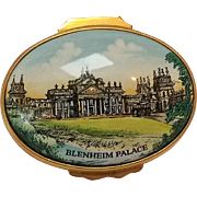Halcyon Days enamel box Blenheim Palace