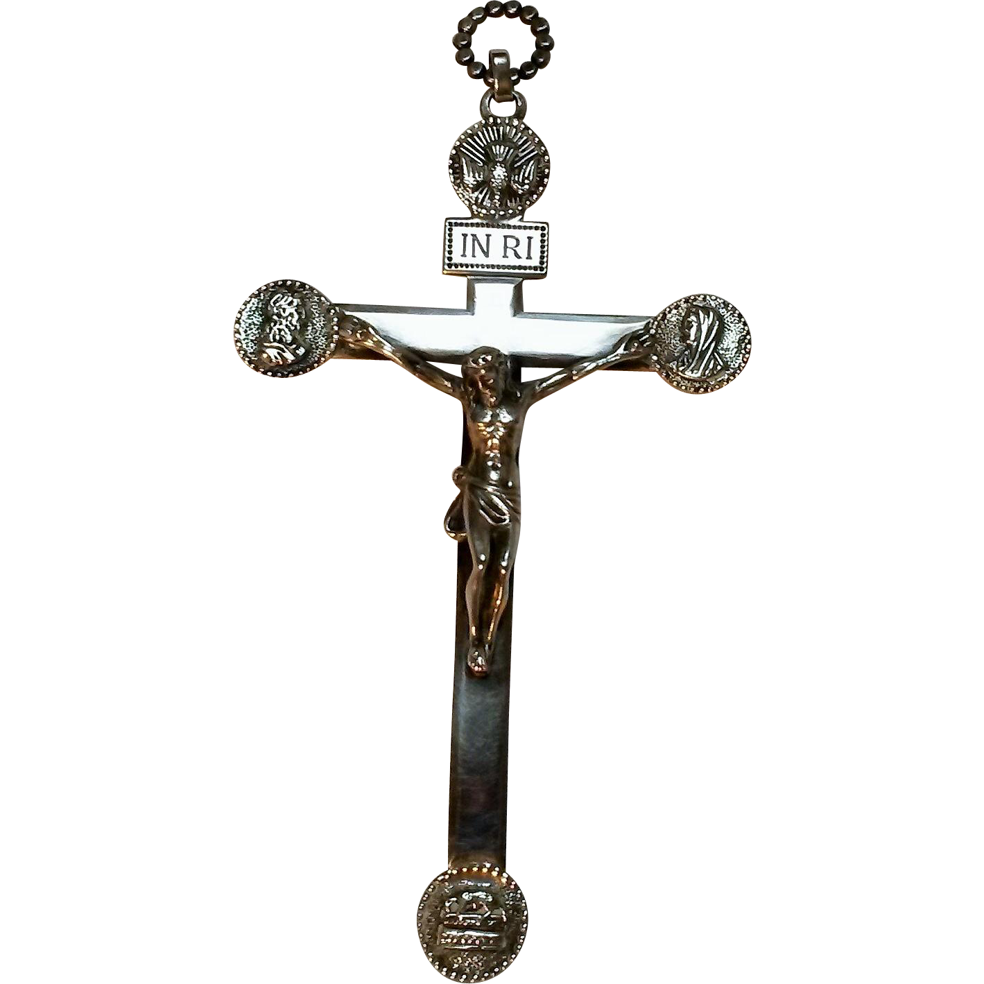 Parenti sterling silver crucifix