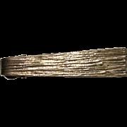 Orb sterling tie clip Modernist