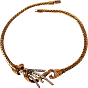 Trifari meteor necklace 1949 Alfred Philippe
