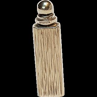 Tiffany & Co sterling Germany perfume bottle purse size