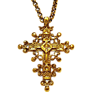 MMA Cleo cross pendant necklace Metropolitan Museum of Art 1992