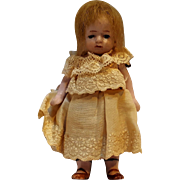 Miniature all bisque dollhouse doll Germany 620 10