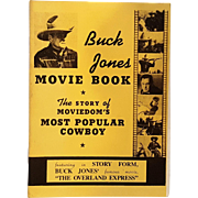 Buck Jones Movie Book Daisy BB gun promo