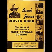 Buck Jones Movie Book Daisy BB gun promo
